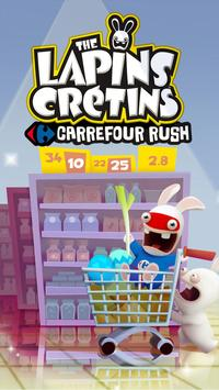 Carrefour Rush Lapins Crétins poster