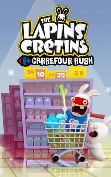 Carrefour Rush Lapins Crétins apk screenshot