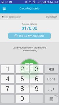 CleanPay Mobile apk screenshot