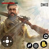 Army Commando Survivor Battlegrounds war shooting icon