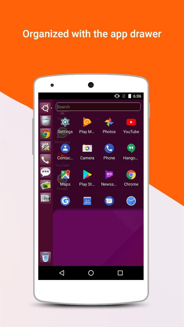 Ubuntu Style Launcher for Android - APK Download