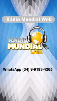 Rádio Mundial Web screenshot 1