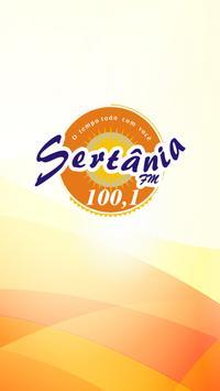 Rádio Sertânia FM - 100,1 poster