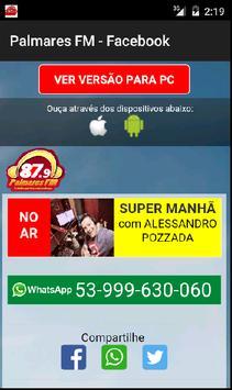 PALMARES FM screenshot 1