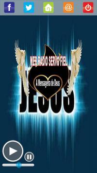 Web Rádio Servo Fiel poster
