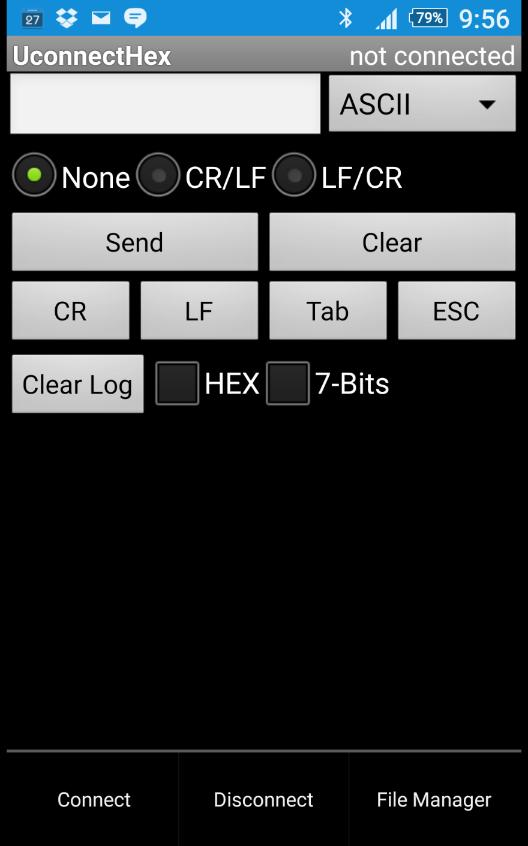 Bluetooth Serial Port Terminal para Android - APK Baixar
