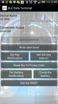 Bluetooth BLE Data Terminal apk screenshot