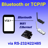Bluetooth SPP &TCP/IP Terminal icon