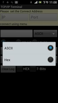 Bluetooth SPP &TCP/IP Terminal apk screenshot