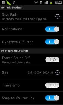 USpyCam (Ultra Spy Camera) apk screenshot