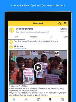 uCampaign apk screenshot