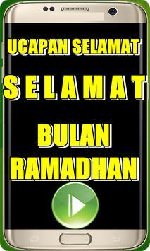 Ucapan  Ucapan Ramadhan poster