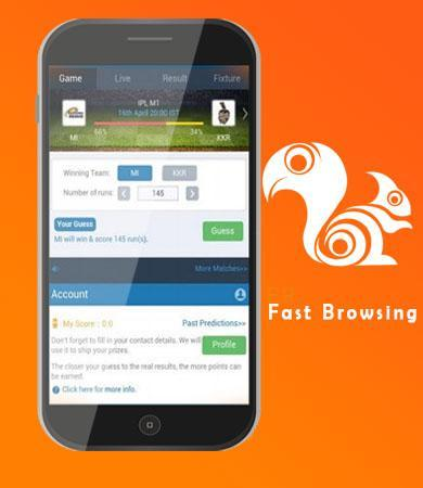 Fast UC Browser new version Reference poster
