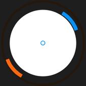 Orange Blue icon