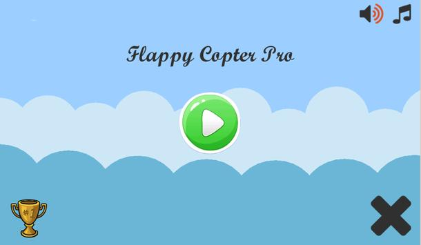 Flappy Copter Pro poster