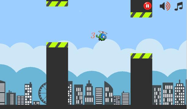 Flappy Copter Pro apk screenshot