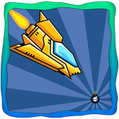 Flying Spaceship Flying Bombs icon
