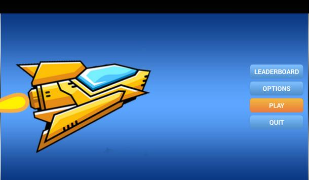 Flying Spaceship Flying Bombs apk screenshot