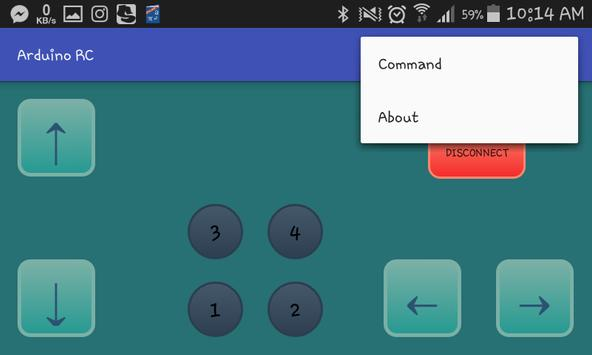 Arduino RC screenshot 1