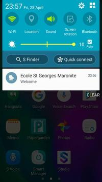 Ecole St Georges Maronite apk screenshot