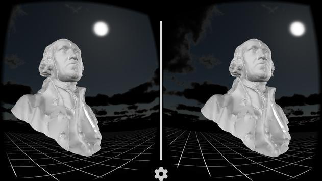 3DIMPact James Watt bust poster