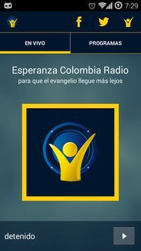 Esperanza Colombia Radio poster