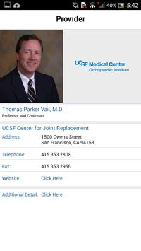 UCSF Joint Replacement Center for Android - APK Download