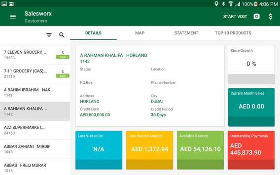 SalesWorx apk screenshot