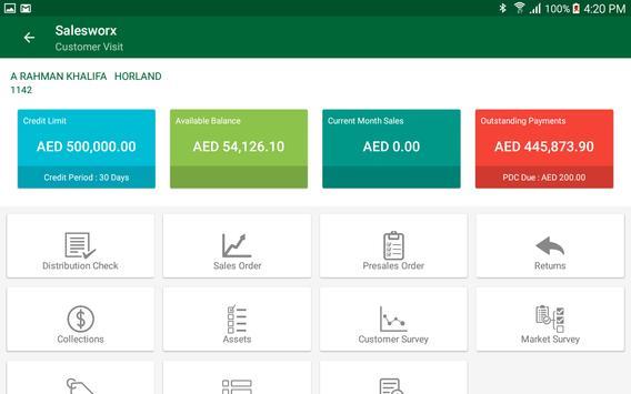 SalesWorx apk screenshot