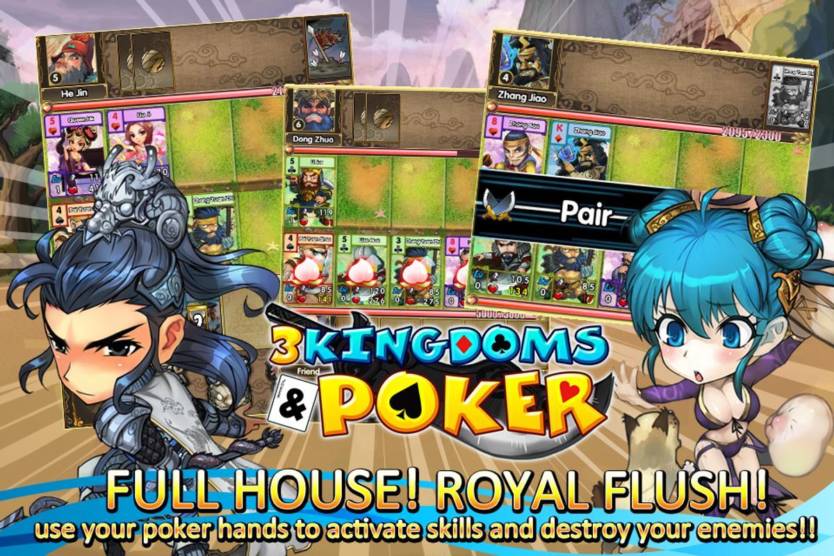 3 kingdoms and poker apk