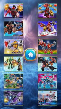 Ninja NEXO Hero Jigsaw game screenshot 1