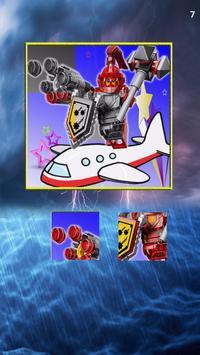 Ninja NEXO Hero Jigsaw game screenshot 2