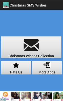 Christmas SMS Wishes poster