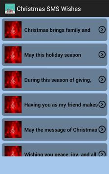 Christmas SMS Wishes screenshot 2