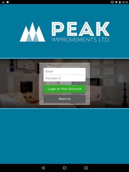 Peak Improvements Ltd. screenshot 7