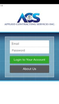 Applied Contracting Services poster