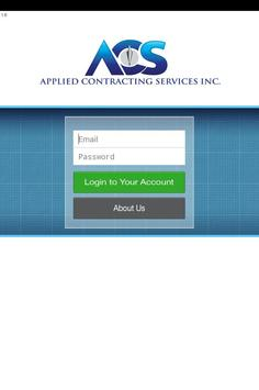 Applied Contracting Services apk screenshot