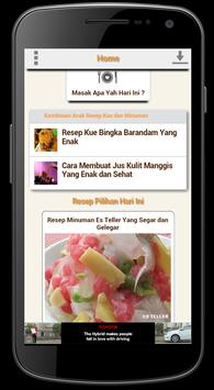 Resep Kue dan Minuman screenshot 1
