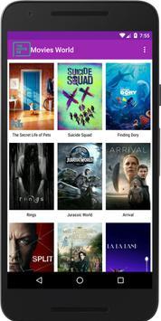 Movies World (Unreleased) apk screenshot