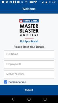 Master Blaster Contest - Udaipur Meet poster
