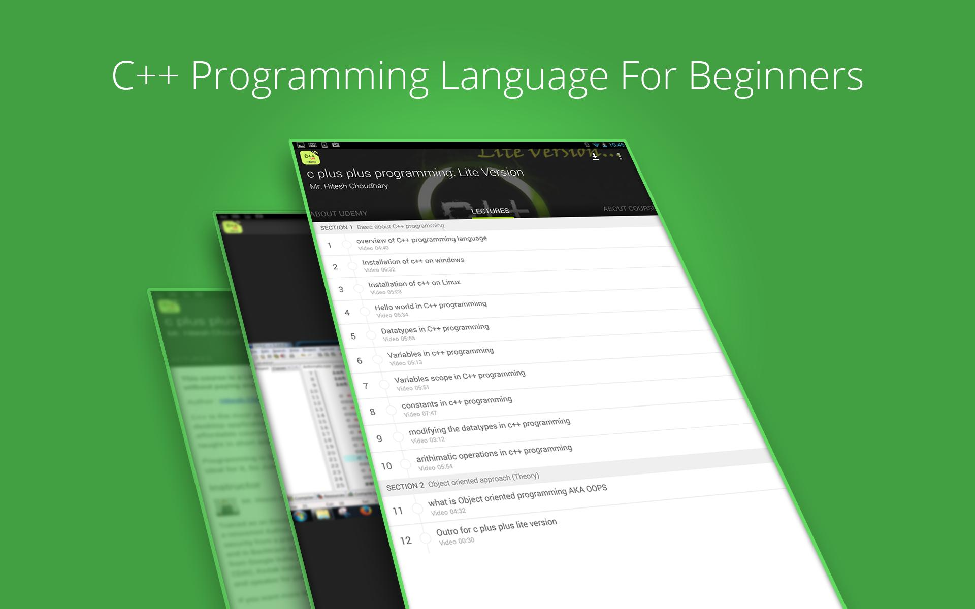 Learn C++ Programming by Udemy for Android - APK Download