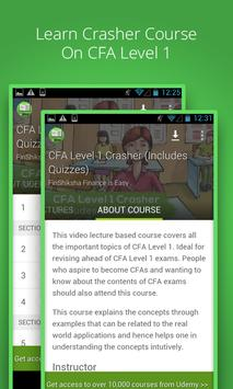 Learn CFA Level 1 poster