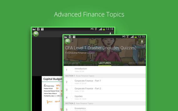 Learn CFA Level 1 apk screenshot