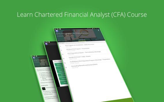 Learn CFA Basics apk screenshot