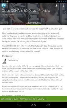 Learn Cisco CCNA by Udemy screenshot 16