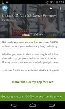 Learn Cisco CCNA by Udemy screenshot 5