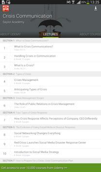 Crisis Communication Course screenshot 7