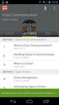 Crisis Communication Course screenshot 13