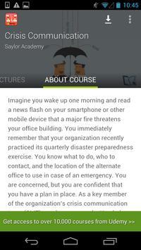 Crisis Communication Course screenshot 16