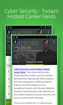 Cyber Security Course poster